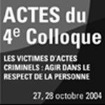 Actes du 4e colloque